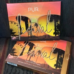 PUR Festival 12 piece pressed pigment palette-new